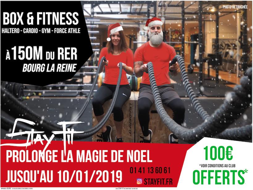 Offre fitness et crossfit Bourg-la-Reine