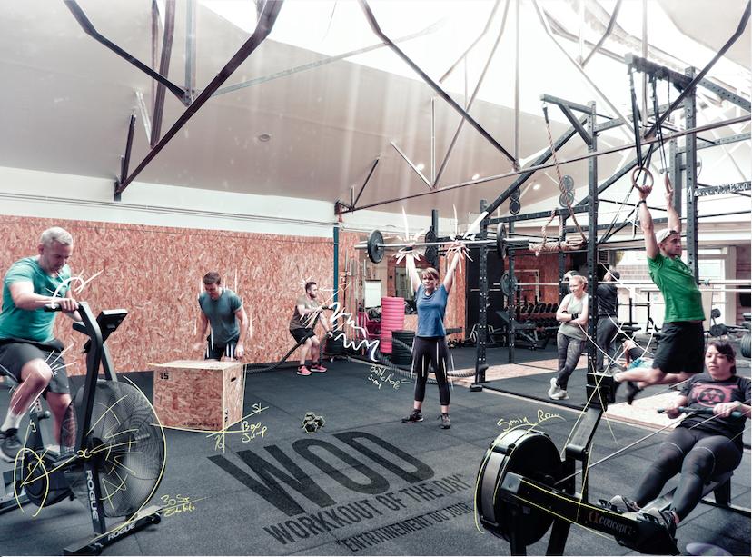 CrossFit en action