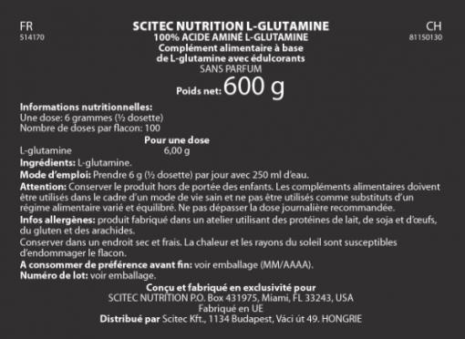 L-Glutamine - SCITEC